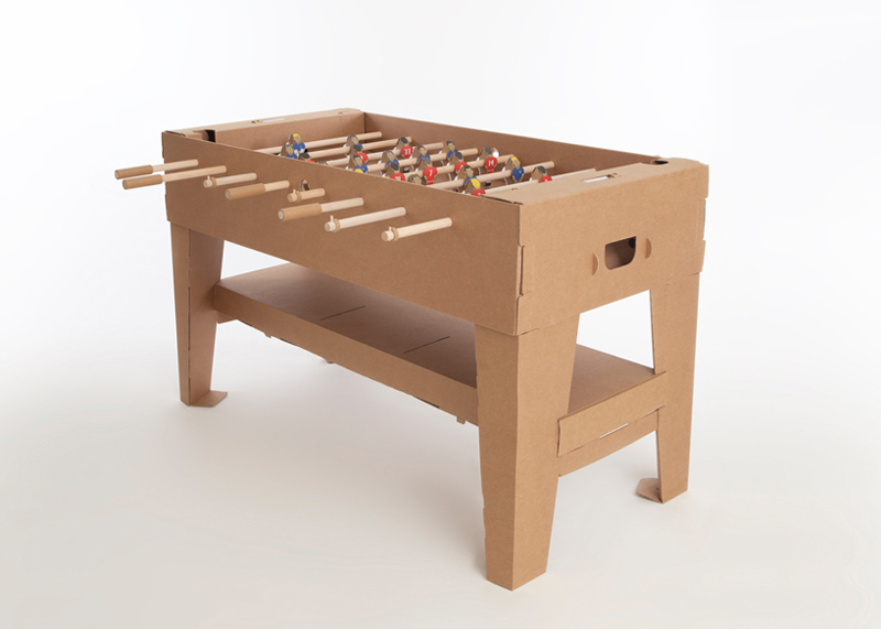 Kartoni Foosball table by Kickpack