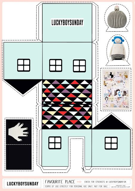 DiY to Try: Houses and Towns - Petit & Small