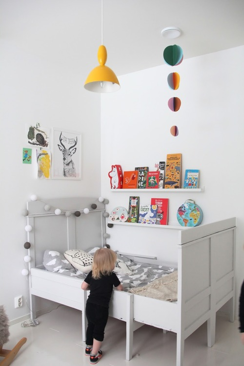 A Bright Child Bedroom in Finland