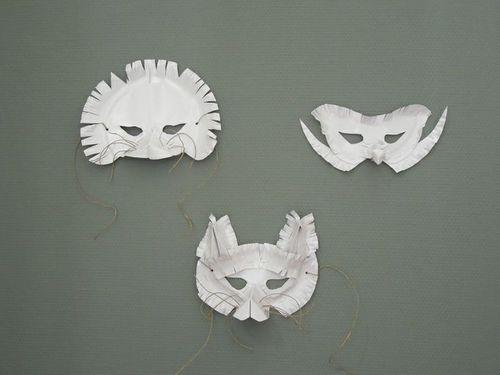 5 creative animal mask ideas petit small. Black Bedroom Furniture Sets. Home Design Ideas