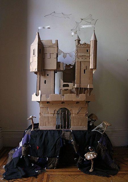 cardboard-castel