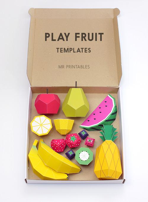 crafts-play-fruit-templates