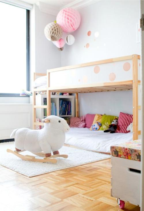 9 ideas to personalize the ikea kura bed - Luminaire enfant ikea ...