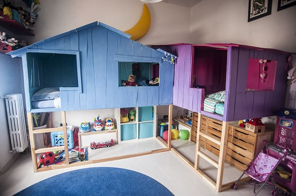 9 ideas to personalize the ikea kura bed - Cama infantil ikea ...