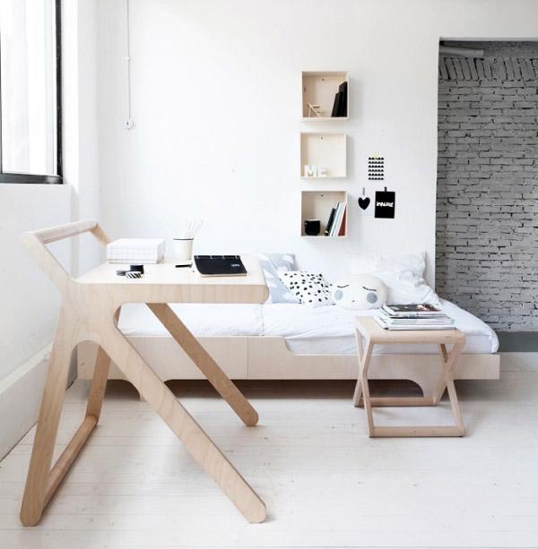 K Desk by Rafa Kids: a very functional desk