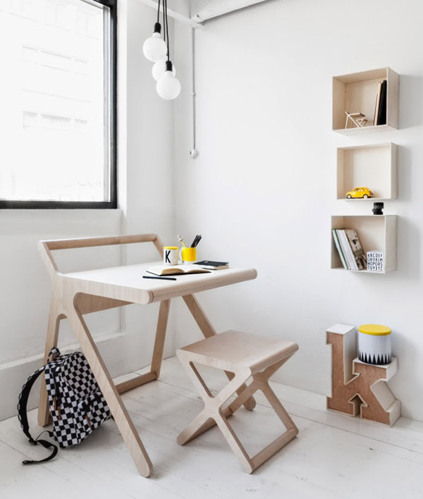 K desk Rafa Kids 4 K Desk by Rafa Kids: a very functional desk