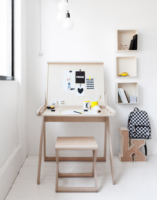 K desk Rafa Kids 5 K Desk by Rafa Kids: a very functional desk