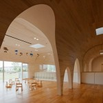 Cool spaces for children… Leimond-Shonaka Nursery School in Japan
