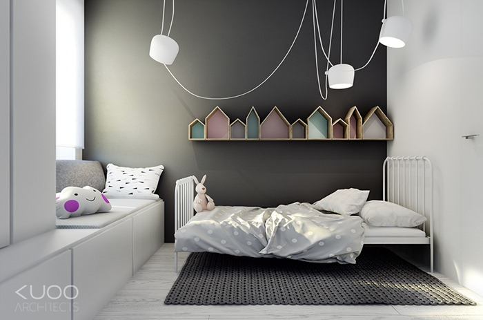 . A simple and nice room for kids   Petit   Small