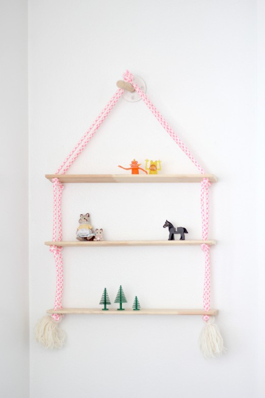 5 cool diy for kids 39 rooms petit small for Kids room shelf