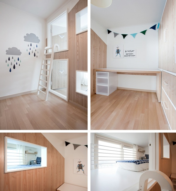 dream house with two separate bedrooms petit small