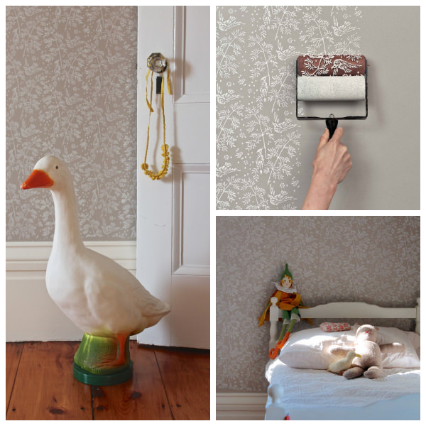 Wall Design Paint Roller : Patterned paint roller designs petit small