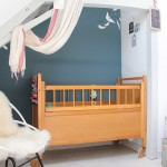 A charming baby nursery