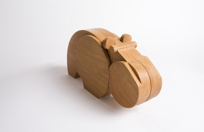 Hippo-wood-toy