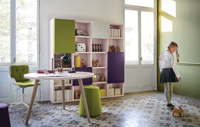 Nidi, amazing children's designer furniture by Battistella