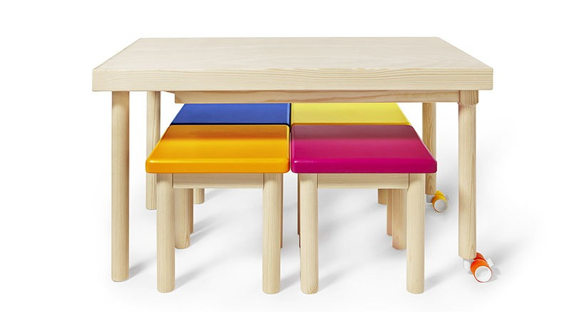Bawa Is A Practical And Well Designed Table With Playful Touch Love It