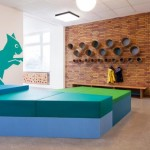 Cool spaces for children… A nursery animated by animals