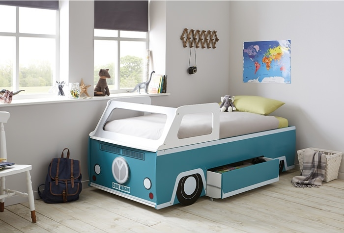 Retro Style Room With The Camper Van Bed Petit Amp Small