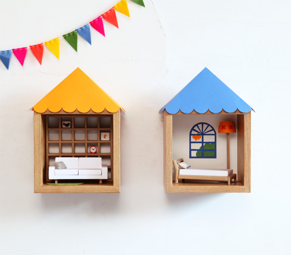 DiY-dollhouse-idea-shelves