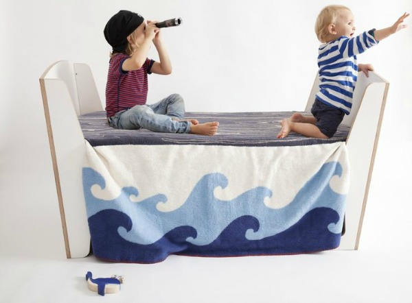 Aye Aye Blanket for Adventurers, Seafarers and Pirates!