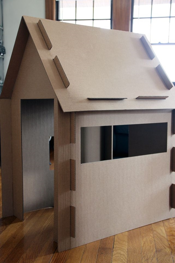 5 cool things to make at home with cardboard petit small Make home design