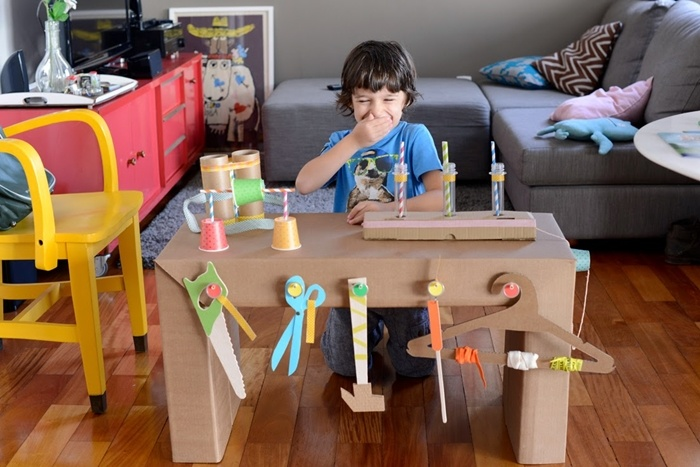 5 Cool Things To Make At Home With Cardboard Petit Small