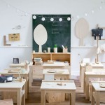 Children's Furniture and Decorative Objects Made Of Natural Materials