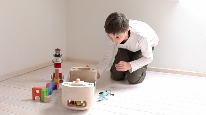 Rollark, sustainable design toy