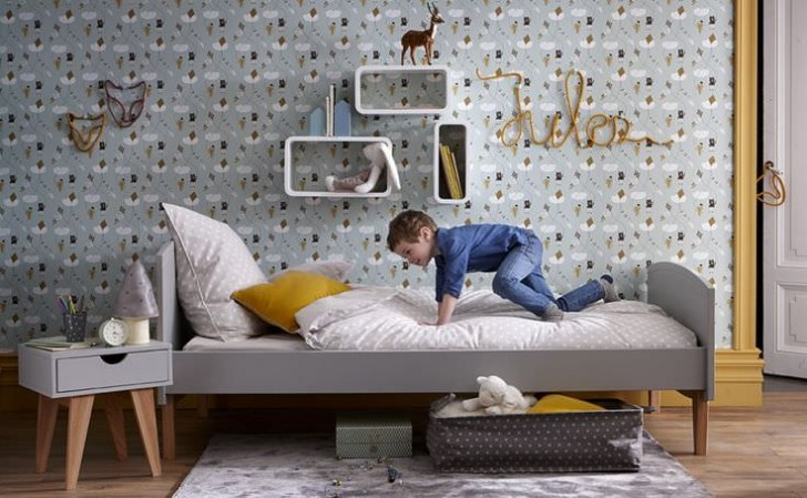 10 Great Kid's Bedrooms In Grey Tones