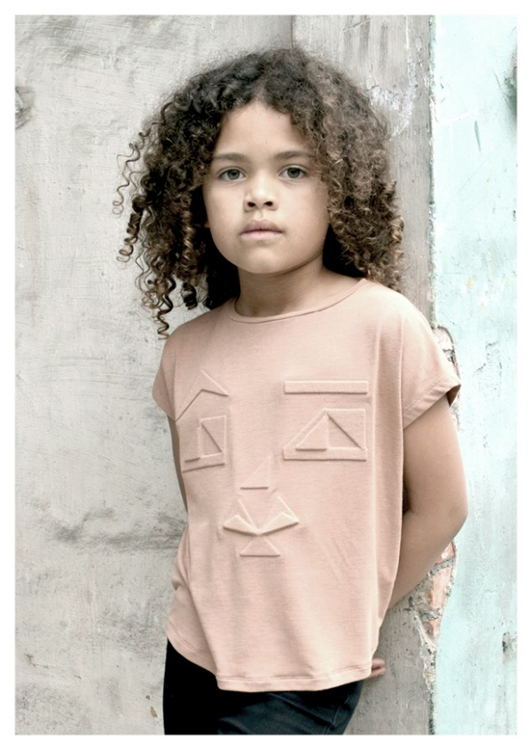 Ine de Haes, sculptural silhouettes for children