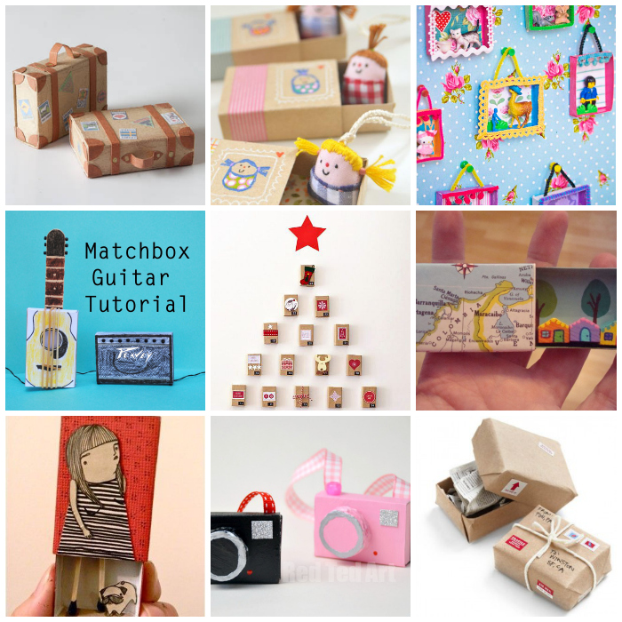 10 craft ideas with matchboxes petit small - Manualidades con cajas ...