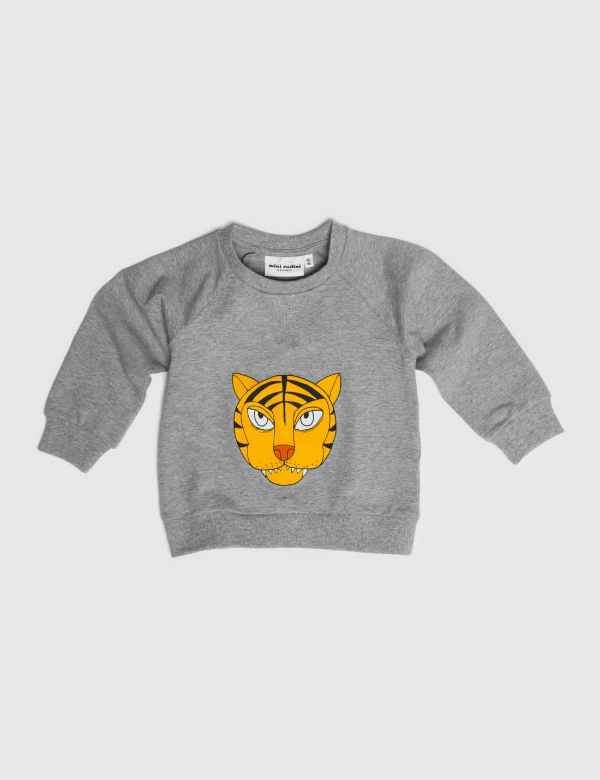 mini-rodini-tiger-sweatshirt-grey-mel