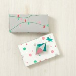 Handmade Customized Paper To Wrap Christmas Presents