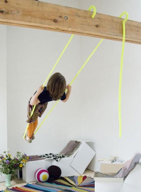 A Fluorescent Swing
