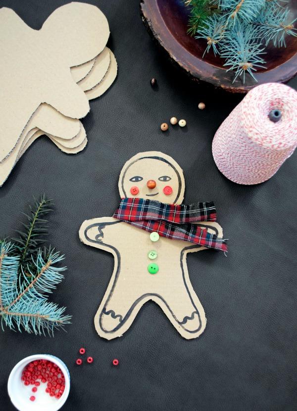 mermag-cardbaord-gingerbread-man-diy