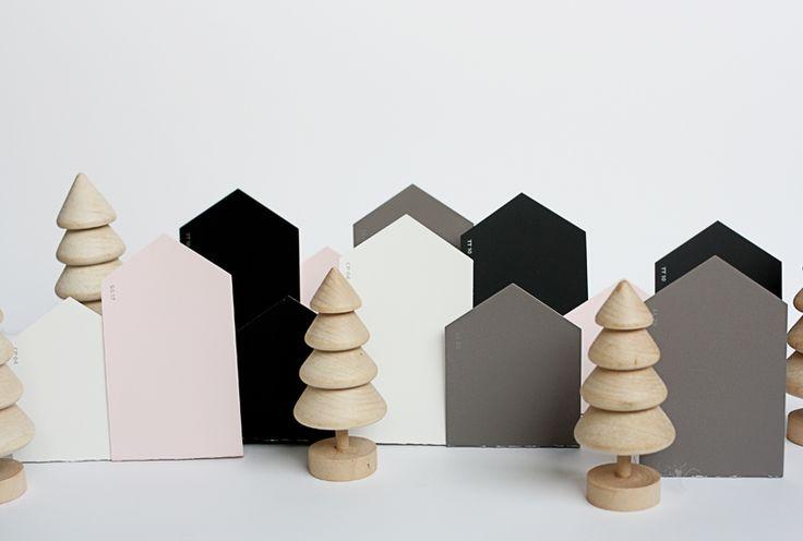 modern-Christmas-village