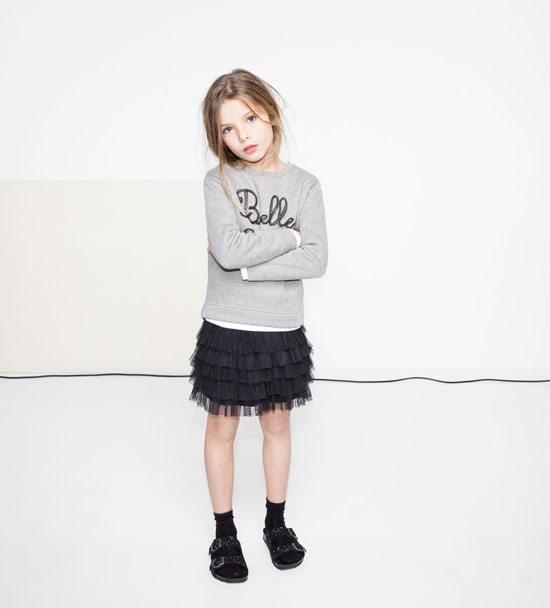 Zara Kids Dresses Up Children At Christmas Petit Amp Small