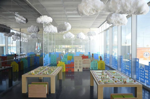 Inventando Ciudades (Inventing Cities) exhibition for kids at Museo MAR Buenos Aires - view 1