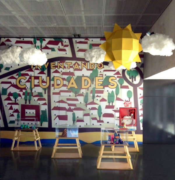 Inventando Ciudades (Inventing Cities) exhibition for kids at Museo MAR Buenos Aires - view 2