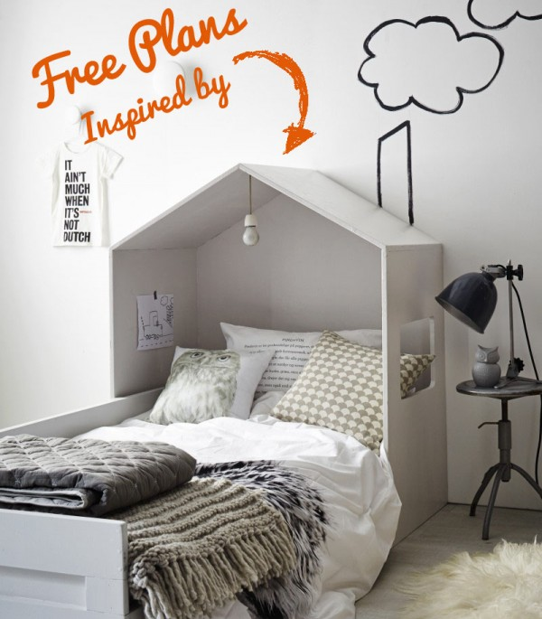 Build A House Bed For Kid S Room