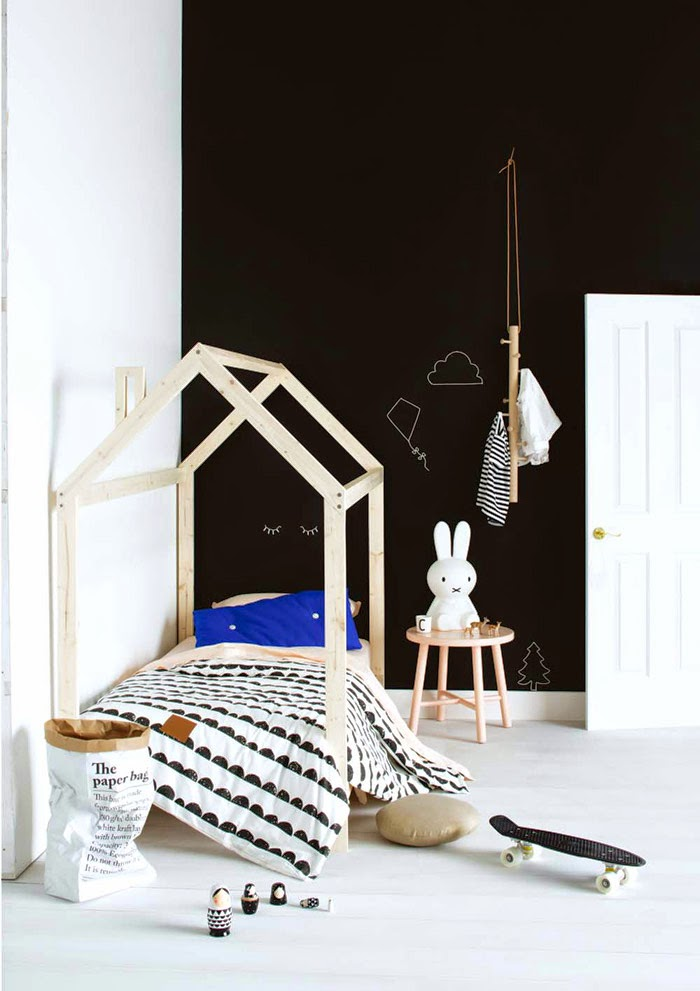 kids-house-bed-Scandinavian-Style