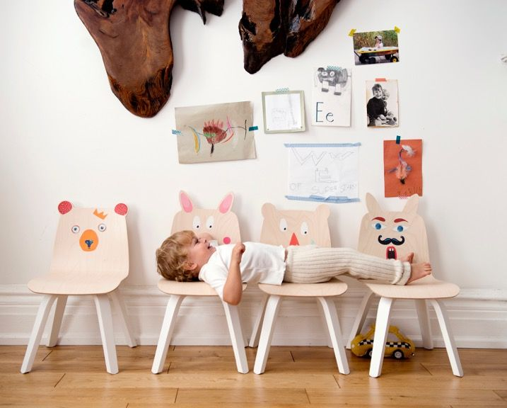 play collection the funny furniture by oeuf petit small. Black Bedroom Furniture Sets. Home Design Ideas