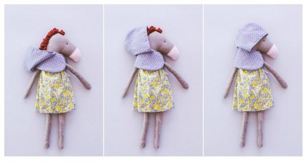 Soft toys by Doriana Draghici