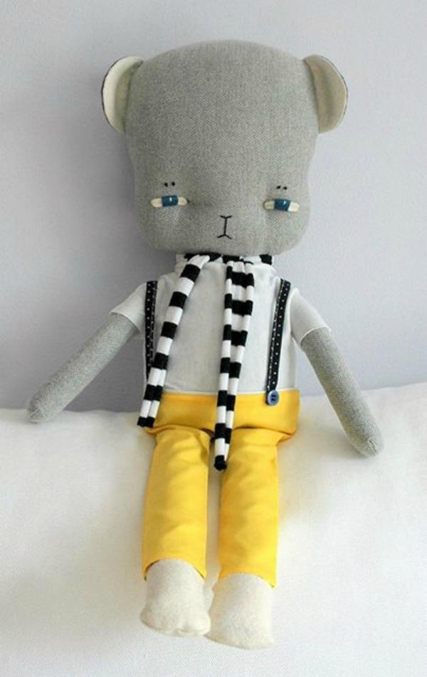 Soft toys by Raluca Dobrescu from Abbit & Bear