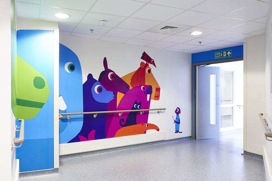 artists-mural-design-royal-london-children-hospital-chris-haughton