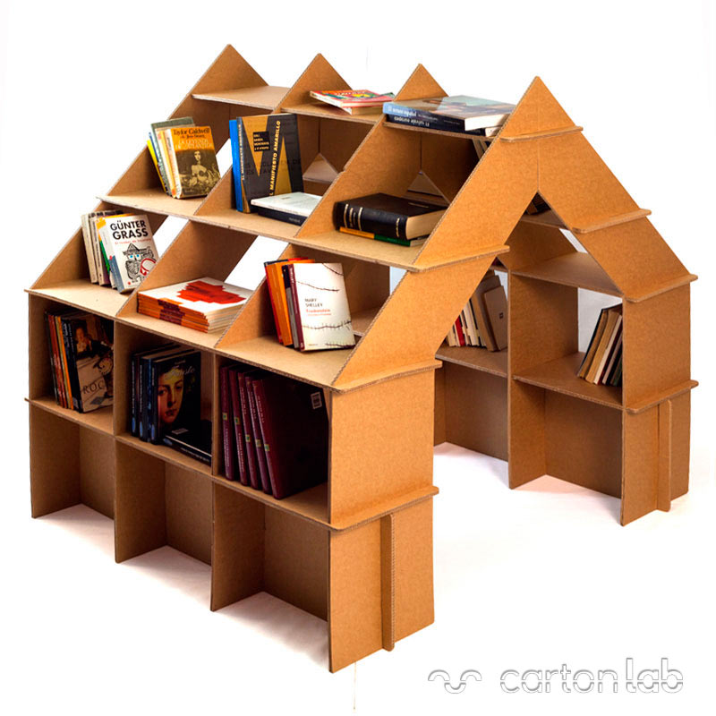 cardboard-house-shelf-bookshelves-cartonlab