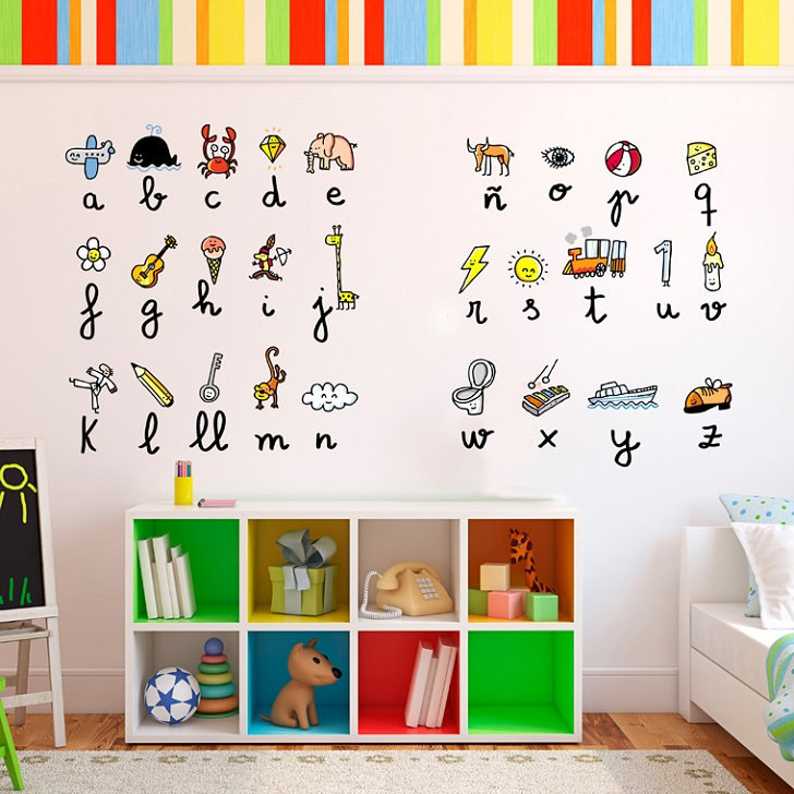 Chispum funny wallstickers8