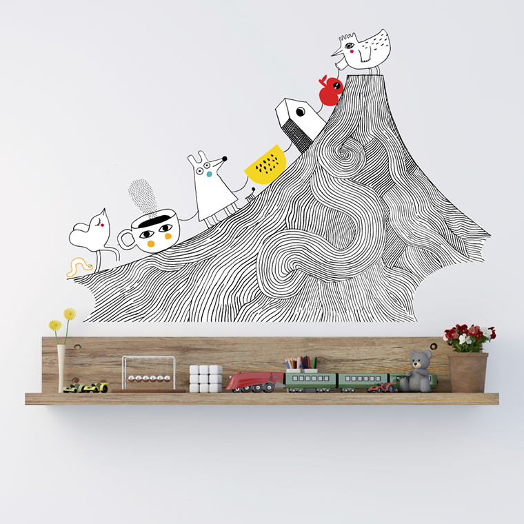 wallstickers-chispum-mountain