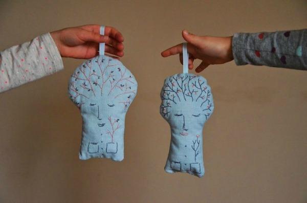Quirky handmade dolls by Pondělí