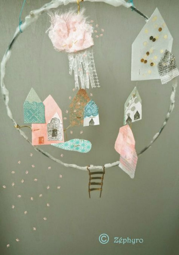 Up, up and away – Atelier Zéphyro's mobiles are dreamy!